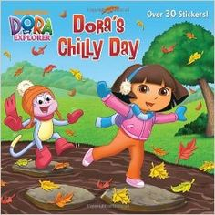 Dora's Chilly Day (Dora the Explorer) (Pictureback(R)): Nickelodeon's Dora the Explorer/i is on a quest to find chocolate for a chilly-day surprise! Girls ages will enjoy this fall-themed full-color storybook with over 30 Dora stickers. Dora Diego, Dora And Friends, Barbie Coloring Pages, Mark Thomas, Black Girl Art, Dora The Explorer, Little Critter, Autumn Theme, Action Movies