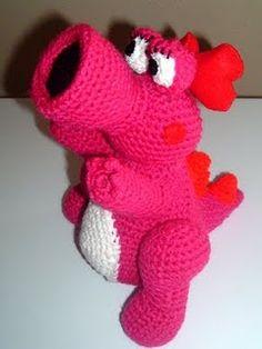 1500 Free Amigurumi Patterns: Free Amigurumi crochet pattern for Mario Bros Birdo
