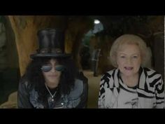 Betty White and Slash Make the Perfect Pair in L.A. Zoo Ads