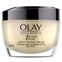 Night Cream by Olay Total Effects Anti-Aging Night Firming Cream and Face Moisturizer, 1.7 Fluid Ounce ** Read more reviews of the product by visiting the link on the image. (As an Amazon Associate I earn from qualifying purchases)