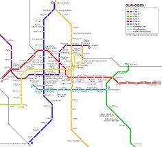 Guangzhou subway. Almost famous scenic spots are along the lines.