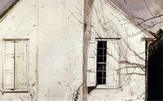 A Painter's View: The Andrew Wyeth Studio show at the Brandywine River Museum in Chadds Ford, PA April through October 2012 Andrew Wyeth Art, Jamie Wyeth, Mark Making, Open Shutters, Brandywine River, Nc Wyeth, American Art, Les Oeuvres, Art Museum