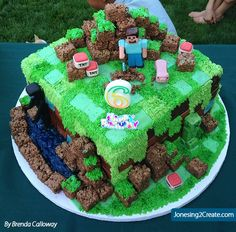 My friend Brenda Calloway makes the most amazing cakes ever! And when I recently saw the Minecraft Birthday cake she made I had to share. It is seriously the best Minecraft cake I have EVER seen! My son freaked out … Continue reading →