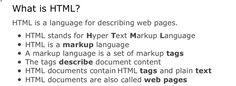 HTML.