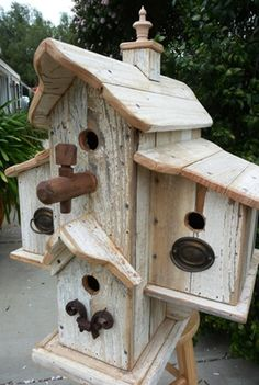 Inspiring Stand Bird House Ideas For Your Garden 60