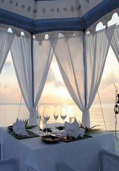 .peaceful and romantic