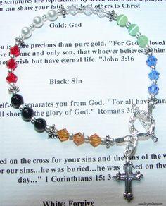 Little S Salvation Bracelet Bracelets Jewelry Beaded Designs