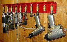 Air Tool Rack, by  B. Vath
