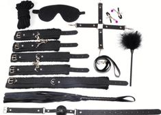 Promo Offer 10 PARTS / LOT New leather bdsm bondage Handcuff Set Erotic Sex toys for couples female slave game SM Sexy handcuffs Erotic Toys Leather Whip, Leather Necklace, Bra Styles, Hair Accessories, Gaming Accessories, Erotic, Beauty, Sexy, Toys