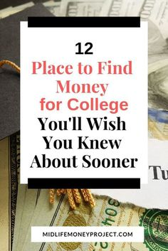 Worrying about finding money to pay for college? Check out this post to find the resources you need to pay for tuition, room and board and everything you need to go to college.