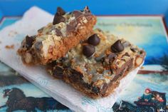 The Cookie Swap! recipe, which is better than the typical Hello Dolly or Magic Cookie Bar.