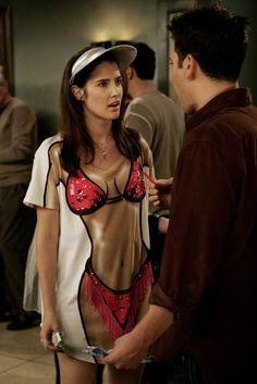 Cobie Smulders Himym Still Bikini T Shirt Hot Bikini Funny Outfits Funny