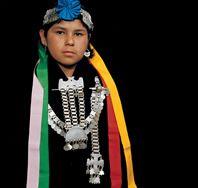 Joven Mapuche