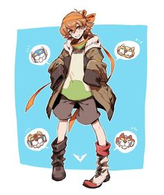 Pidge! You need to stop stealing everyone's clothes! (Or don't, you adorable little thief)