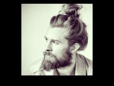 The Man Bun - it's a thing, and it's hawt.