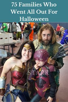 A lot of individuals love Halloween. They start planning for their costumes as early as the day after Halloween the year before. And they really commit to it. And do you know who else does that? Family Halloween Costumes, Amazing Cosplay, Girl Gang, Jelsa, Anime, Wonder Woman, Skinny, Aquaman, Celebrities