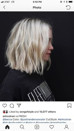 -漫~*' ̈ ̄ ̈'*·舞~ leelanova ~舞*' ̈ ̄ ̈'*·~ diffuse- - Frisuren 2019 - Brown Blonde Hair, Blond Bob, Blonde Blunt Bob, Balayage Bob Blonde, Short Blunt Haircut, Pixie Haircut, Blunt Bob Haircuts, Short Blonde Bobs, Blonde Bob With Fringe