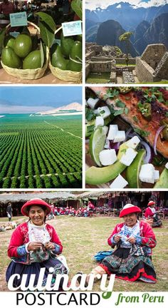Culinary Postcard from Peru! Join me Celebrating Summer with Avocados from Peru.
