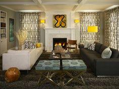 Transitional   Living Rooms   Lisa Aharam : Designer Portfolio : HGTV - Home & Garden Television