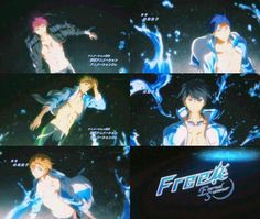 Planeta Fanfic (Y manga): IMÁGENES OFICIALES: 2ª Temporada: Free! Eternal Summer