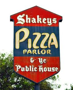 SHAKEYS PIZZA  My mom and I would have lunch at Shakey's in Muncie.