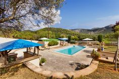 #rural #landhaus #esporlas #puigpunyent #realestate #luxury #immobilien  http://www.balearinvestluxury.com/en/property/finca-rustica-en-solar-de-14-206m2-aprox-con-piscina-/ref/37649  Rural property on a plot of 14.206m2 approx. with swimming pool  Living/dining room of 45m2 approx., fully equipped kitchen approx 30m2., 3 double bedrooms, 2 bathrooms, terrace of 90m2 approx., porch 62m2 approx., approx. 300m garden, swimming pool. Guest house (loft studio) 70m2 approx. Mountain views.