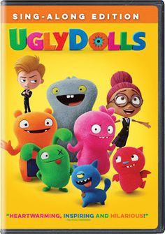 Confessions of a Frugal Mind: UglyDolls on DVD $4.99 Universal Studios, New Movies, Movies To Watch, Family Movie Night, Family Movies, Hidden Figures, Ugly Dolls, Secret Life Of Pets, Kelly Clarkson