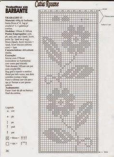 Hobby lavori femminili: Schema uncinetto - Centro rettangolare con girasol...