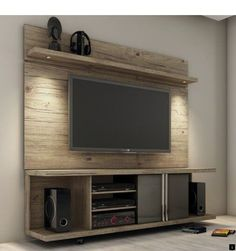 Tv entertainment wall unit cool best home entertainment centers ideas for the better life intended inspirations 8 tv entertainment unit wall mounted Home Entertainment Centers, Floating Entertainment Center, Entertainment Center Decor, Entertainment Furniture, Tv Rack Design, Wall Design, Stand Design, Cabinet Design, Diy Tv Stand