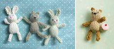 Teeny tiny toys for little girls' pockets - ahhhh bless