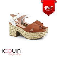 Um toque a mais de charme pro seu final de semana #koquini #comfortshoes #euquero Compre Online: http://koqu.in/2d4oOTM