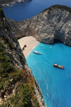 I would love to see this place in person! Shipwrek beach, Zakynthos, Greece.