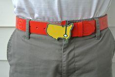 boyfriend would love this.. Masters golf belt