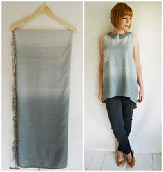 Refashion Co-op: Thrifted Sarong becomes.....