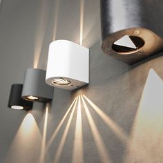 Canto | Wall lamp from Nordlux | With light patterns to design your own light | Designed by Bønnelycke mdd | Nordic and Scandinavian style | Produced in metal | Light | Decoration | Designed in Denmark