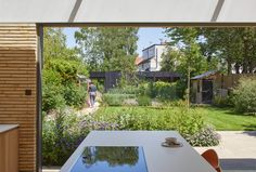 Gallery of Sun Slice House / Neil Dusheiko Architects - 24 Semi Detached, Detached House, Courtyard House, New Builds, Skylight, Victorian Homes, Design Process, Home Projects, Landscape Design
