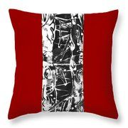 Healer Throw Pillow by Carol Rashawnna Williams