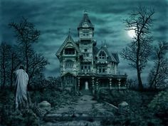 ghostly desktop   Free GHOSTLY MANOR Wallpaper - Download The Free GHOSTLY MANOR ...