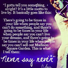 NEVER.          SAY.              NEVER!!!!!!!!