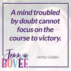 Doubt and confidence cannot reside in the same space! #Mindset #NLP #hypnosis