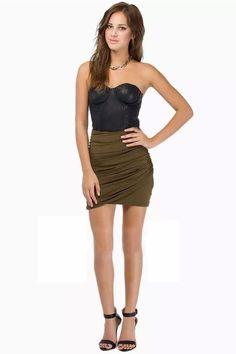 LUCLUC Sweetheart Sleeveless Mini Bodycon Dress