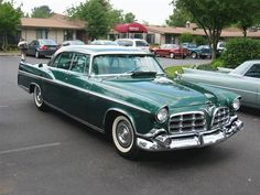 1956 Chrysler Imperial Retro Cars, Vintage Cars, Chrysler Imperial, Chrysler Usa, Desoto Cars, 1950s Car, Assurance Auto, Cinema, American Classic Cars