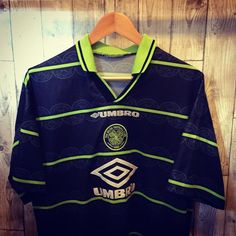60dd1ead648 Iconic Kits (@iconickits) • Instagram photos and videos. This vintage umbro  Celtic away shirt ...