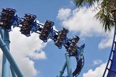 Manta rollercoaster at SeaWorld
