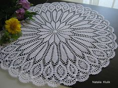 Crochet Doily Crochet Napkin White Doily Lace Napkin Home Decor