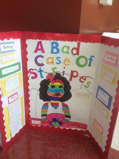 A Bad Case of Stripes Reading Fair tri-fold campus & district ...
