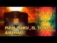 El templo anunnaki Puma punku en Tiwanaku, Bolivia
