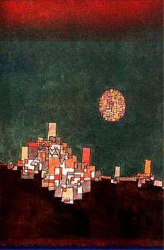 Elu site, 1940 de Paul Klee (1879-1940, Switzerland)