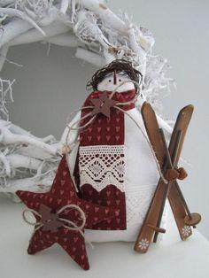 Милые и чудесные снеговички для вдохновения и новых идей нашим талантливым рукодельницам :)…