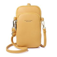 68d976d9ba Brenice Women Solid Flap Card Bag Phone Bag Crossbody Bag is designer, see  other cute bags on NewChic.